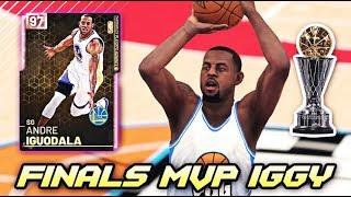 PINK DIAMOND FINALS MVP ANDRE IGUODALA IS INCREDIBLE!! | NBA 2K19 MyTEAM GAMEPLAY