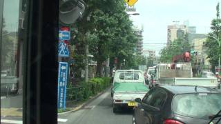 関東バス 荻36 荻窪駅北口→南善福寺 【前面展望】