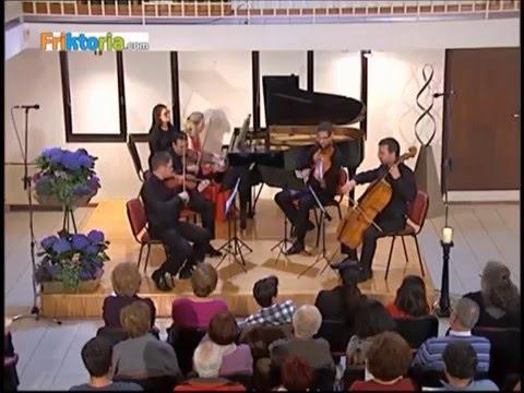 Quartetto  IL Belpaese  with Katia Veekmans - A. Dvorak : Piano quintet A Major op. 81 (Promo)