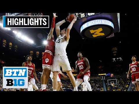 highlights:-wolverines-cruise-past-hoosiers-|-indiana-at-michigan-|-feb.-16,-2020