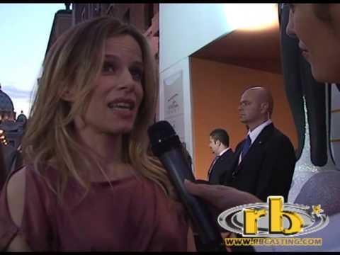 SONIA BERGAMASCO - intervista (Orange Carpet RomaFictionFest 2009) -  WWW RBCASTING COM