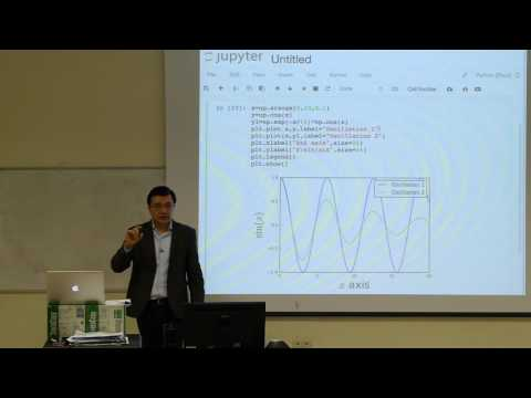 Computational Physics Lecture 4, Introduction to Matplotlib