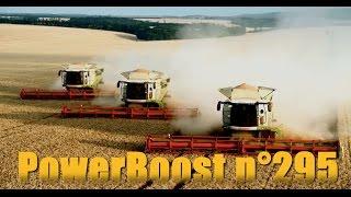 1200 hectares de blé et 0 moissonneuse batteuse ! PowerBoost N°295 (17/07/2015 )