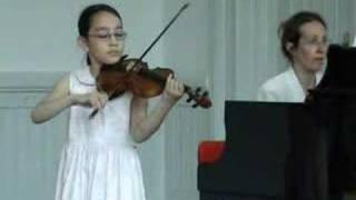 Sarah Shy, violin, Jenkinson: Elfentanz, 060621b