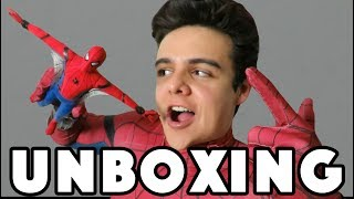 ¡ABRIENDO MI HOT TOYS DE SPIDERMAN! / NAVY