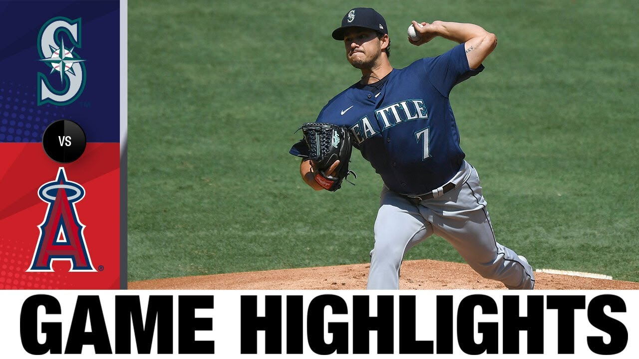Gonzales pitches complete game for 2-1 win   Mariners-Angels Game Highlights 8/31/20