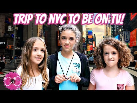 TRIP TO NYC!  TV APPEARANCE + BEACH VACATION!