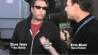 The Sex Pistols Steve Jones talks with Eric Blair @ the 6th Johnny Ramone tribute