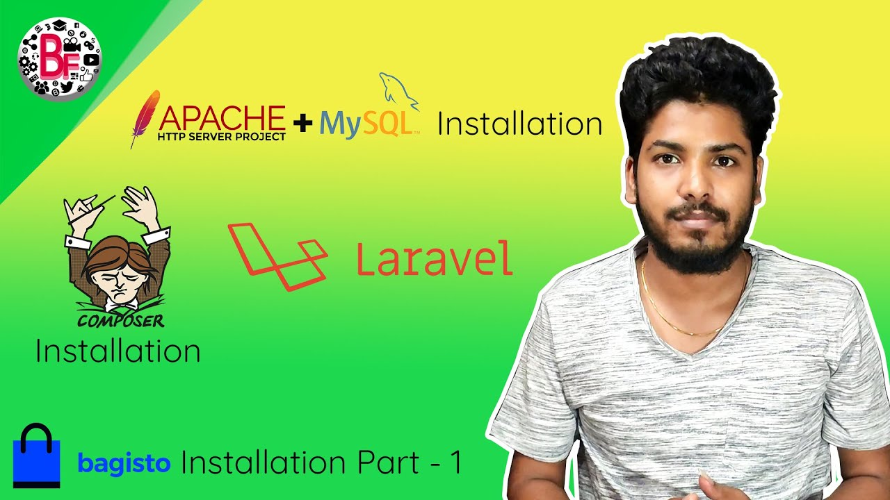 Apache | Mysql | Composer Installation For Bagisto In tamil (Part -1) | தமிழில்