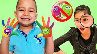 Wash Your Hands Song | Nursery Rhymes and Songs for kids | Caletha Playtime