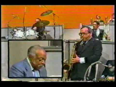 Duffy Jackson on the Big Show with the Count Basie Orchestra - Wind Machine: The Big Show in 1980 with Duffy Jackson, Barbara Eden and Dennis Weaver