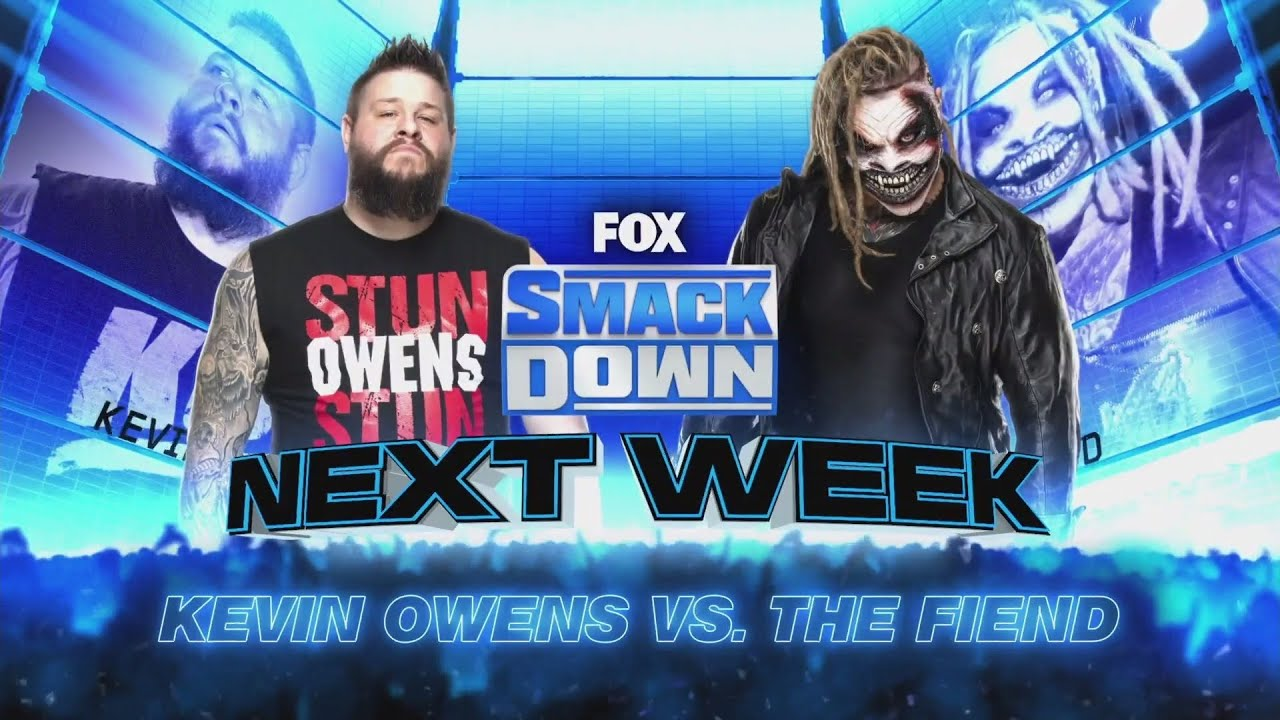 Kevin Owens vs The Fiend