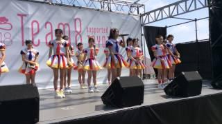 DRIVING KIDS FES in 佐賀で初めて披露された山田菜々美ちゃんのキャッ...