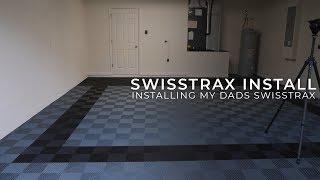 Installing Swisstrax In My Dad's Garage