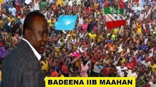 Shacabka Soomaaliyeed Oo Ka Dhiidhiyey Boobka Kenya (Badeena iib Maahan)