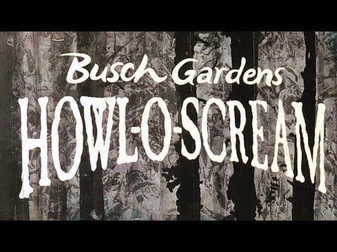 Howl-O-Scream At Busch Gardens Tampa Bay 2018!
