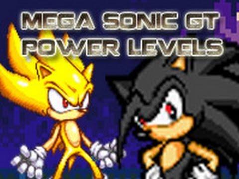 Mega Sonic Gt Power Levels Episodes 1 18 Youtube