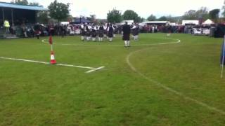 Major Sinclair memorial pipe band, ards contest 2012