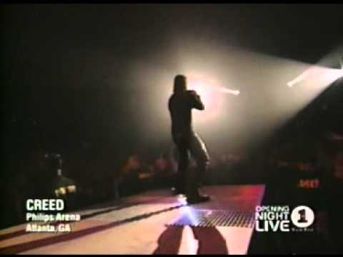 Creed - 04 - Signs (LIVE VH1 Opening Night)