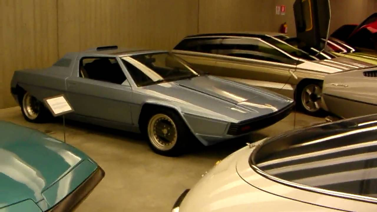 Car Guy Tour 2009 - Bertone Collection - YouTube