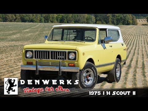 1975 International Harvester Scout II IH Cornbinder