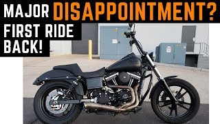 mAJOR DISAPPOINTMENT? Still Can't Wheelie Shinko 777 Tire Review & Chain Harley Dyna Street Bob Club