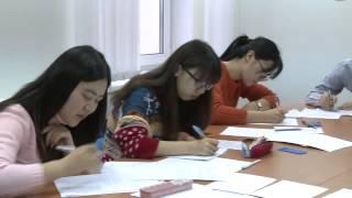 Иностранные магистранты сдают экзамен по русскому языку(В эту сессию экзамены сдают не только наши студенты, но и гости из Китая, Ирака и Шри-Ланки. Магистранты,..., 2014-01-17T03:53:08.000Z)