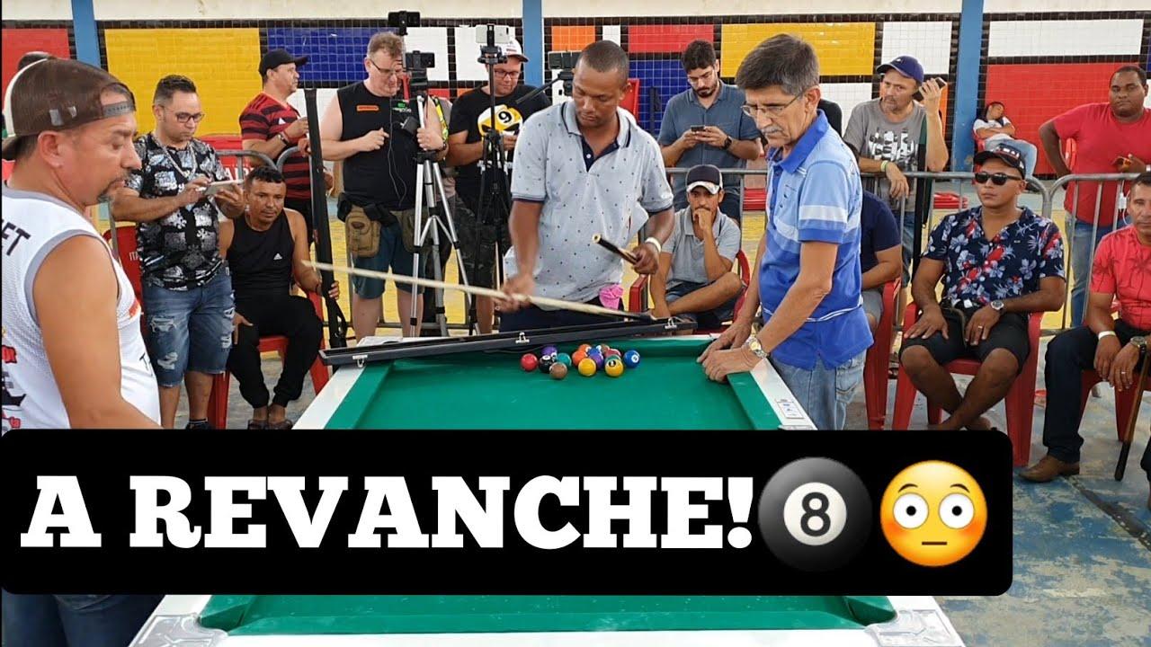 Baianinho de Mauá X Marcelo Baiano, final do torneio de sinuca de Campina Grande JAN/2020