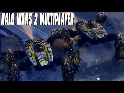 Halo Wars 2 Multiplayer 2vs2 - Back and Forth Action