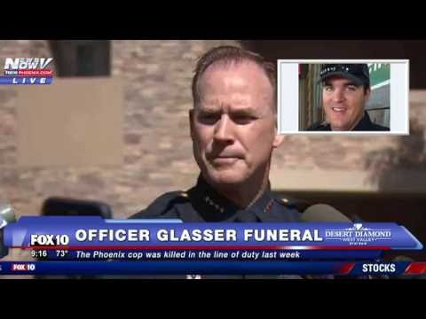 FNN: Officer Glasser Funeral - Phoenix Cop Killed in the Line of Duty