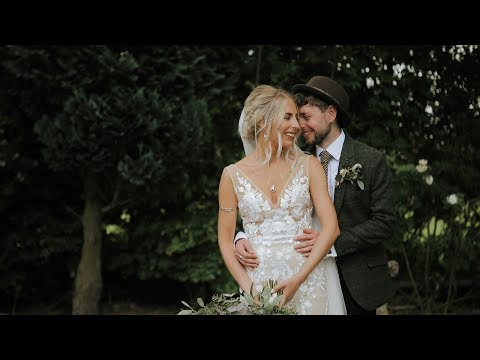 Cumbira, Eden Barn Wedding Film - Billy & Emma