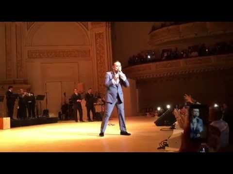 Gilberto Santa Rosa Finale & Encore @ Carnegie Hall 6/3/16 Filmed by James Ayala