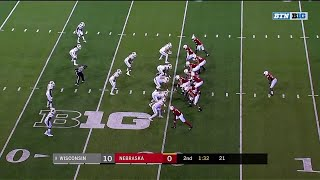 Stanley Morgan 80-Yard TD vs. Wisconsin