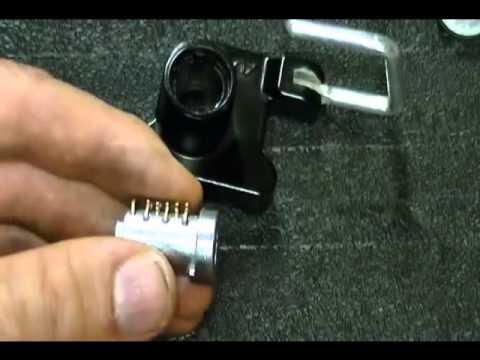 how to disassemble and assemble a motorcycle helmet lock with tips