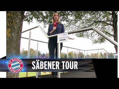 INSIDE: FCB training grounds and beer garden