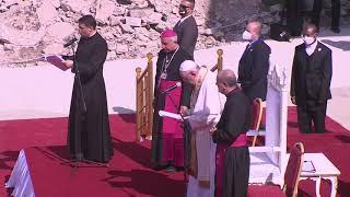 Папа Франциск провёл мессу в разрушенном войной Мосуле в Ираке