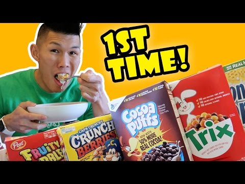 TRYING BANNED CEREAL for the 1ST TIME FINALLY || Life After College: Ep. 543