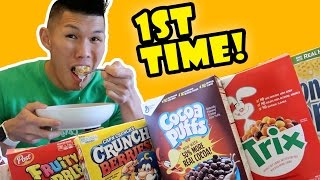 TRYING BANNED CEREAL for the 1ST TIME FINALLY || Life After College: Ep. 543 thumbnail