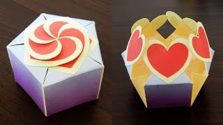 Gift box sealed with hearts - a smart way to present your gift - EzyCraft
