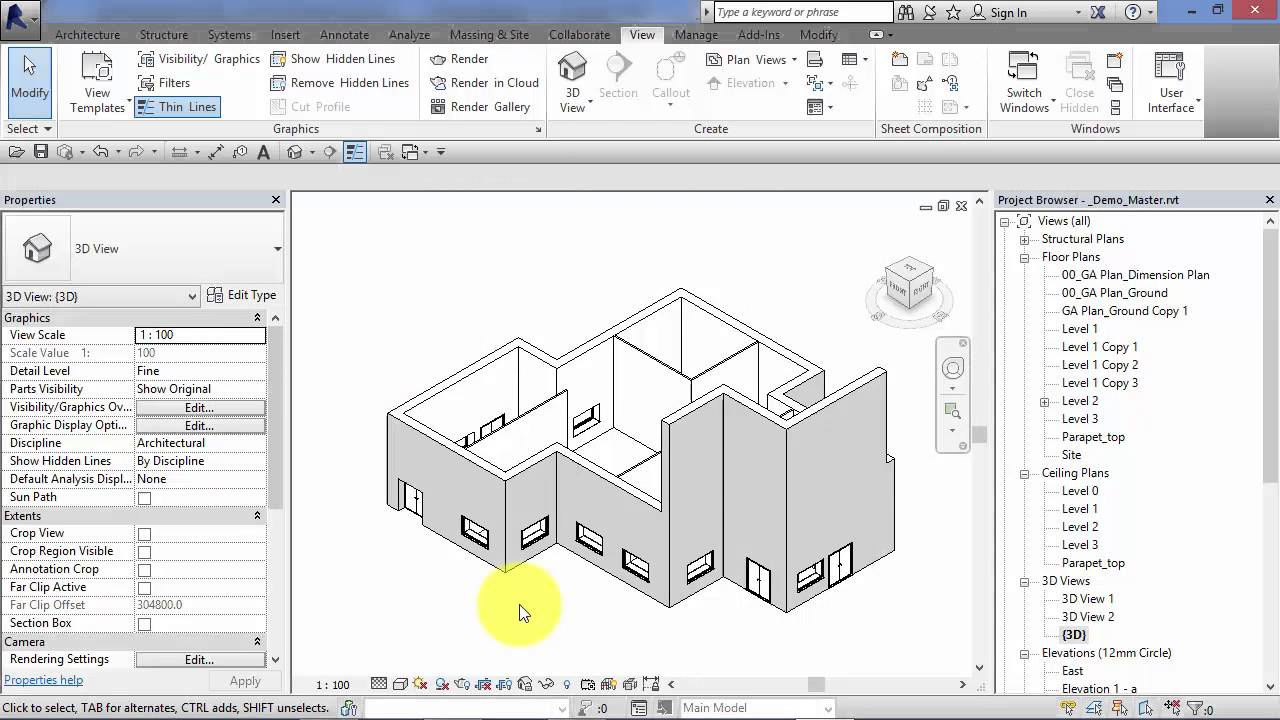 Module 3: Unit 2: Revit Architecture: Instance and Type Parameters