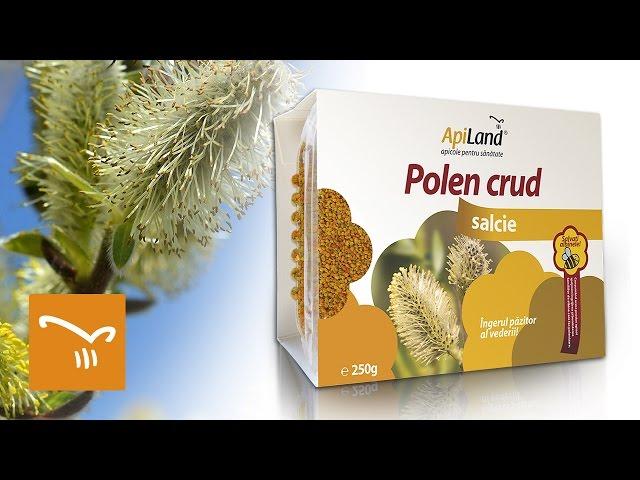 #2 Polen crud de salcie - remediu natural pentru o vedere s?n?toas?
