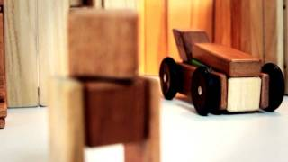 Magnetic Wooden Cars - Tegu Mobility