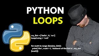 Python Loops: For Loops, While Loops, a Beginners Python Loop Tutorial