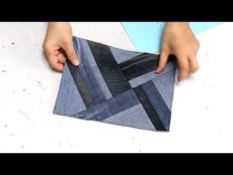 up cycling - 53/up cycle/Create a box handbag/사각 크로스백 만들기/Make a bag