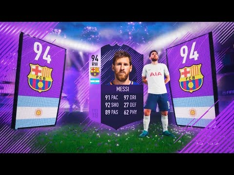MESSI HÉROE IN A PACK!!! | BRUTAL TOP SOBRES #3 | FIFA 18