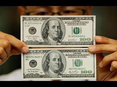 طريقة معرفه الدولار الحقيقي من الدولار المزور Youtube