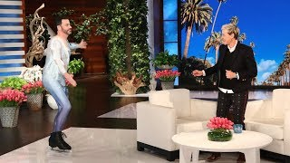 Video Jimmy Kimmel, Jamie Foxx, and Chance the Rapper Surprise Ellen During Her Star-Studded Birthday Show download MP3, 3GP, MP4, WEBM, AVI, FLV Oktober 2018
