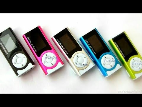 Digital MP3 Player Quick Review and Unboxing