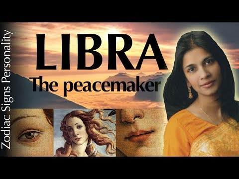 LIBRA zodiac sign personality traits & psychology according to astrology
