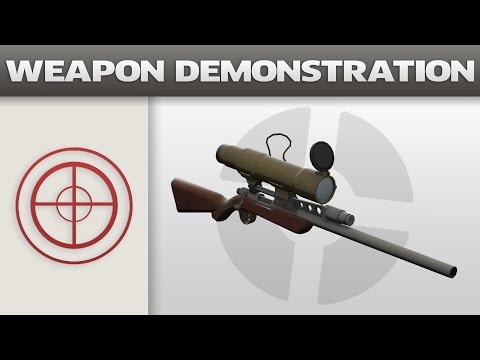 Weapon Demonstration: Sniper Rifle